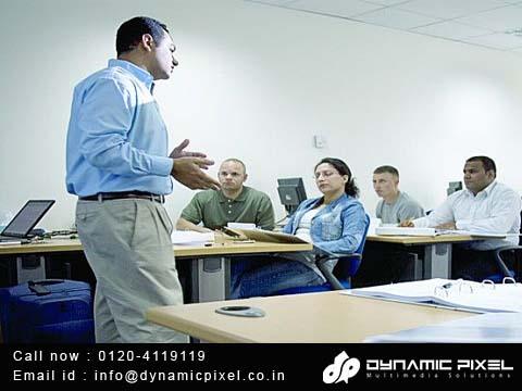 instructor LED classroom